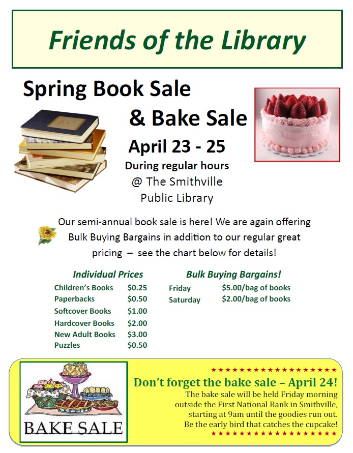 Spring Book Sale 2015
